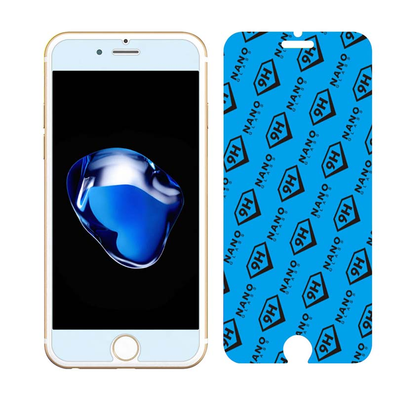 Bubbles Free Nano Glass Screen Film For iPhone 6 Plus, 7 Plus - YIPI