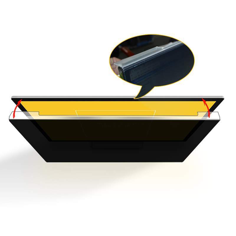 New Products Online Shopping Anti Shock 21''Acrylic Privacy Filters