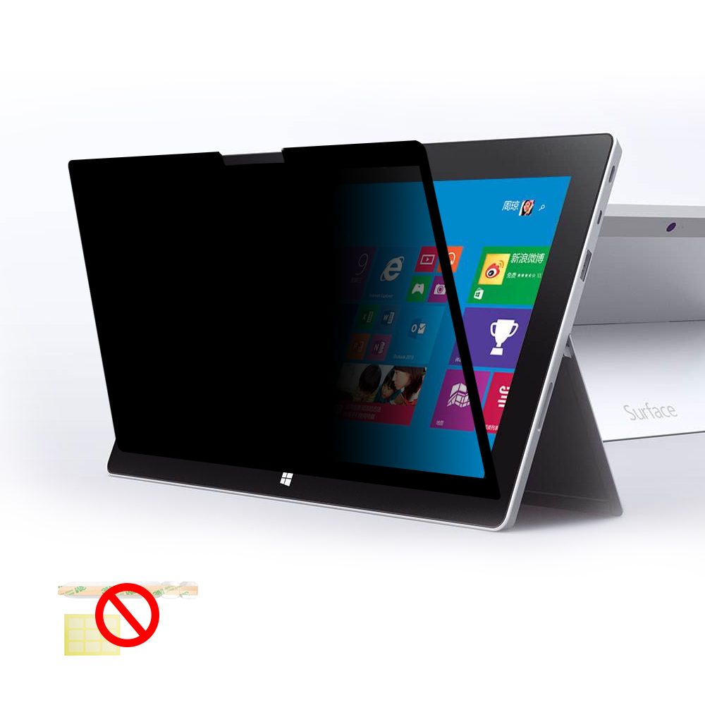 Privacy Screen Protector that blocks side view For Surface Pro 2/3/4/5