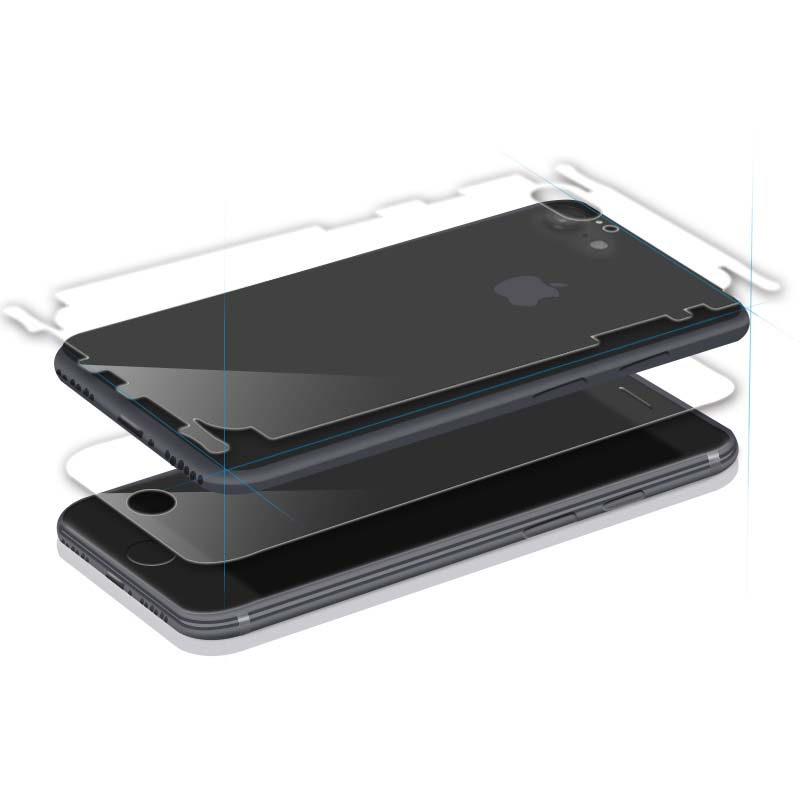 Original Touching Feeling Smooth TPU  Film Screen Protector  For iPhone - YIPI