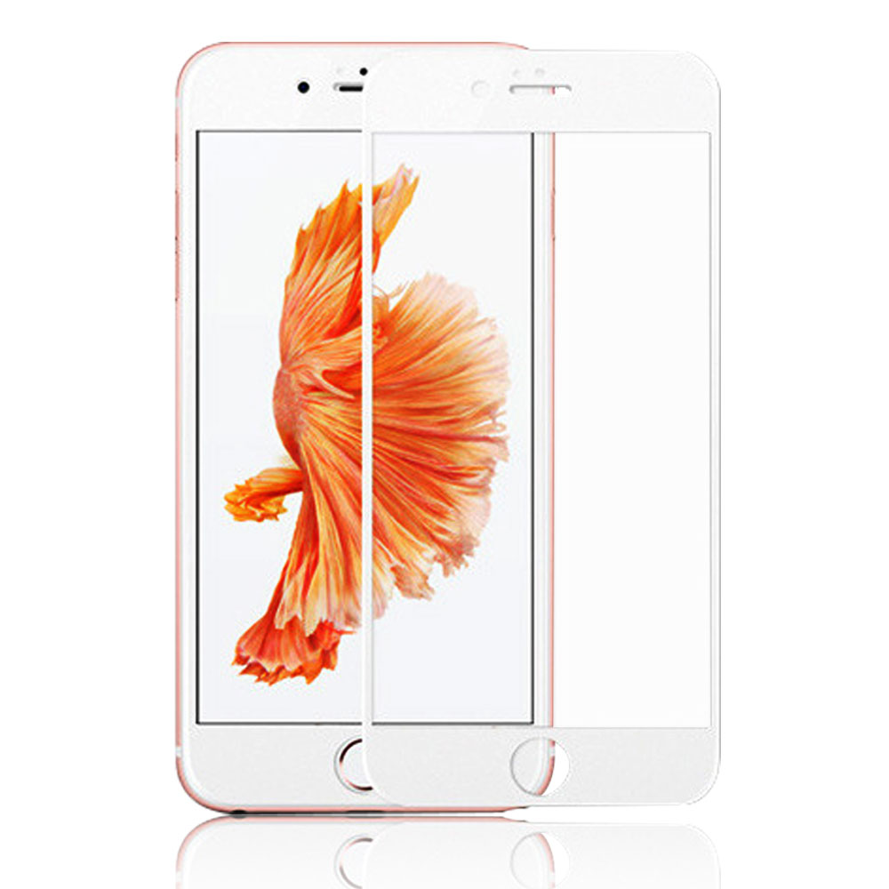 3D Full Cover 9H Tempered Glass Screen Protector For iPhone 6 Plus - YIPI