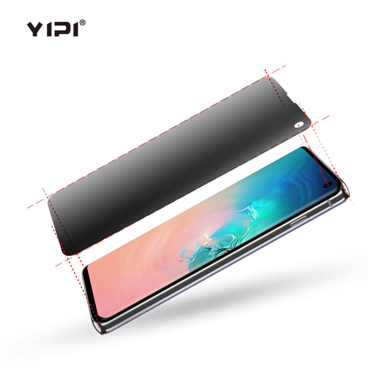 Self- Healing TPU Privacy Screen Guard For Samsung Galaxy S10E