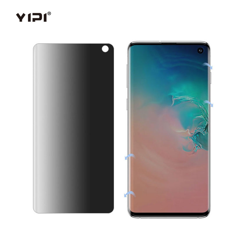 3D TPU Full Coverage Privacy Screen Protector For Samsung S10 Plus