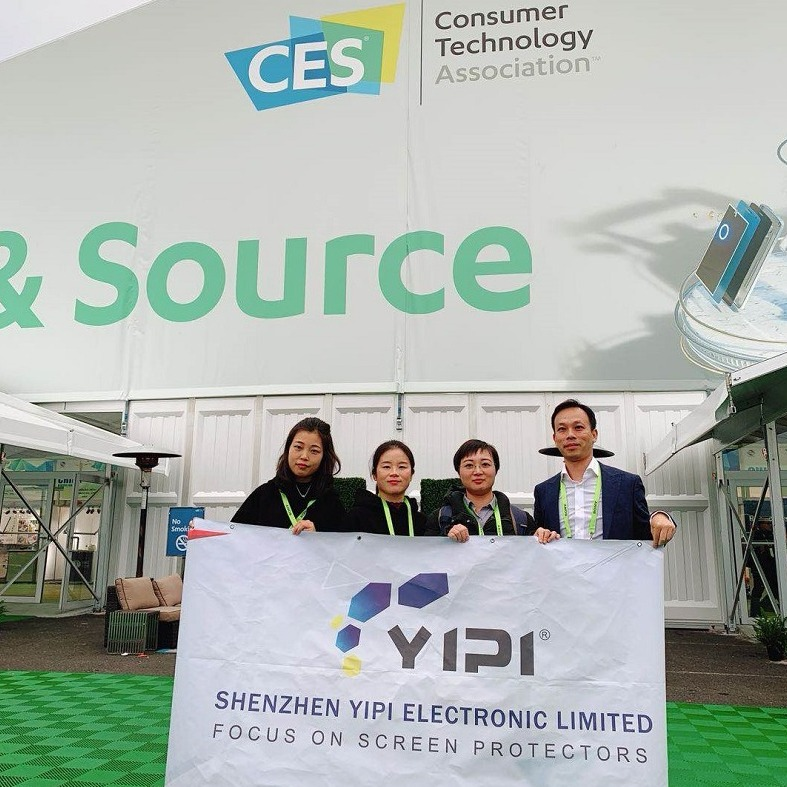 In January 2019,YIPI at CES in USA!