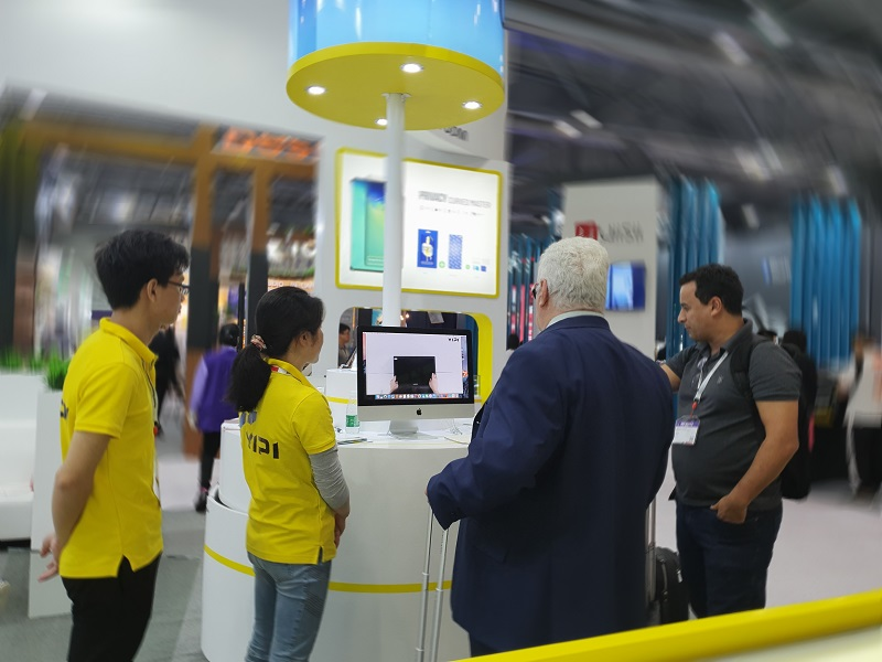 YIPI ELECTRONIC LIMITED brought Privacy Filter to the Asian Expo