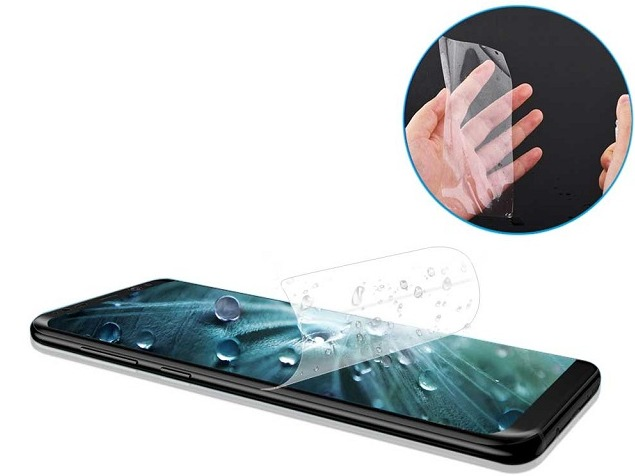 Privacy screen protector vs. hydrogel film, tempered glass film