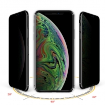 3D Privacy Tempered Glass Screen Protector For IPhone XS