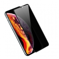 3D Privacy Tempered Glass Screen Protector For IPhone X