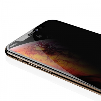 black screen protector iphone x