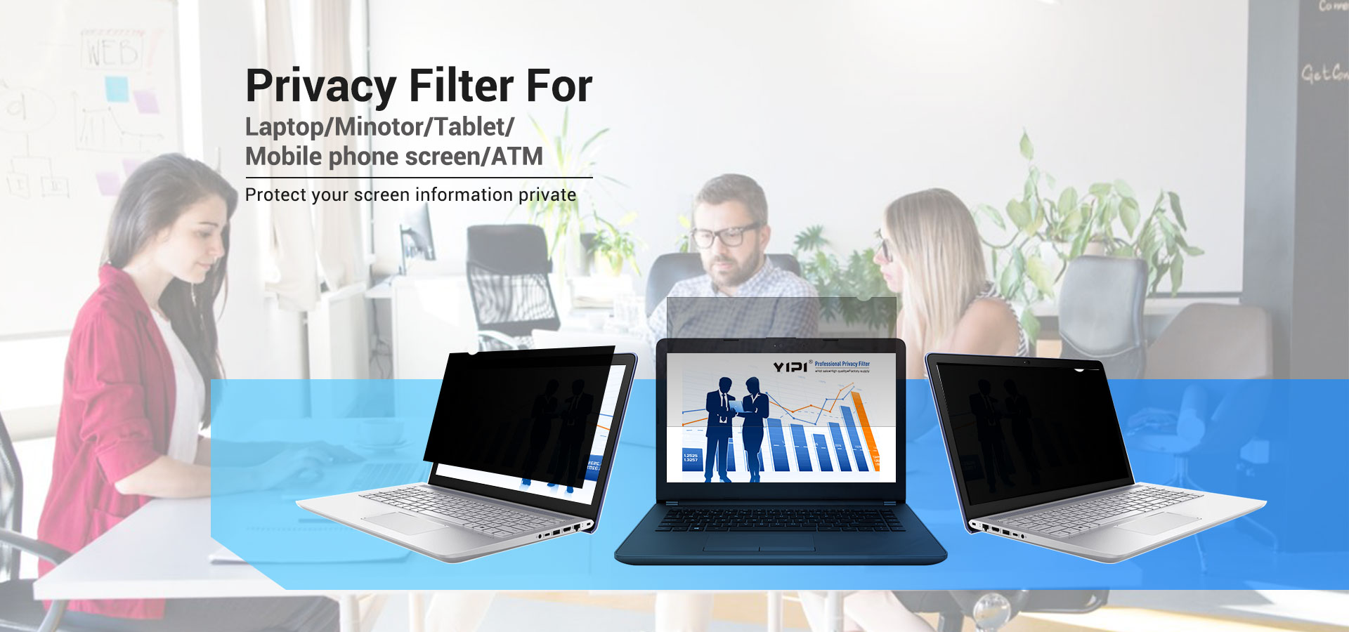 Buy a Premium Privacy Filter for your Laptop. Fits any laptop & notebook computer. Guarantees the Confidentiality of your Laptop Screen.