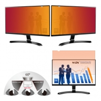 Best Gold Privacy Screen for Computer 22 inch